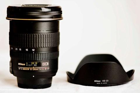 Nikon 12-24 lens and HB-23 hood