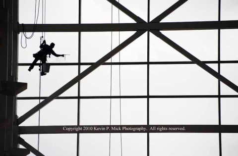 Window Washer-Colorado COnvention Center
