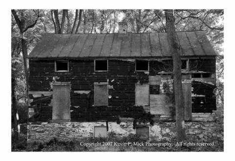 B&W photograph of Oregon Ridge Boarding House