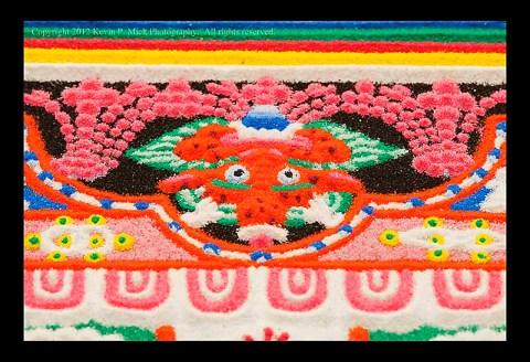 Closeup of Mandala