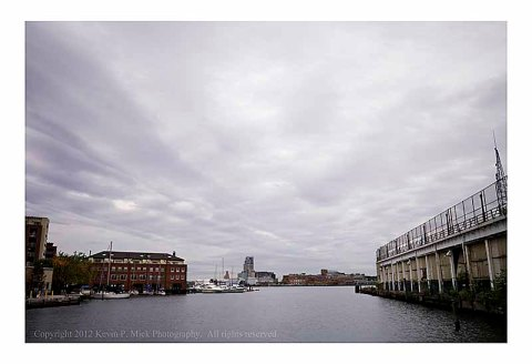 Pre Hurricane Sandy Sky in Fells Point (wide)