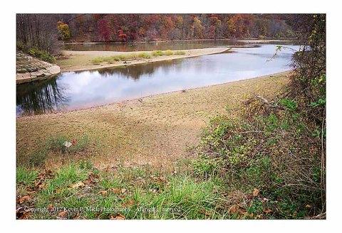 Liberty Reservoir at pre Superstorm Sandy level