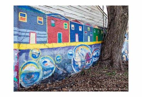 8 Mile Wall in Detroit, MI.